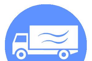 Icona: furgone per consegna pesce a domicilio